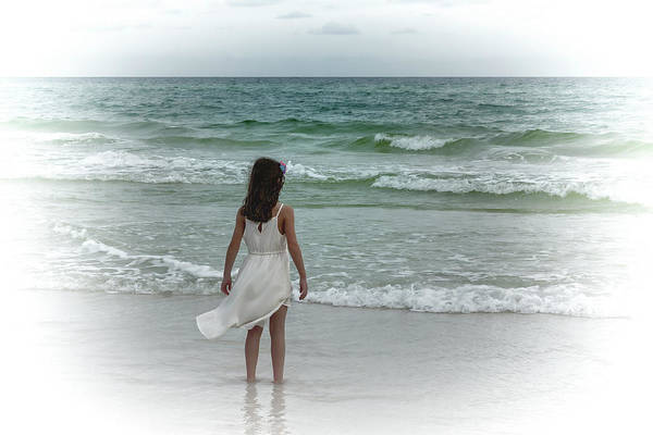 Photograph - Toes In The Surf by Kay Brewer