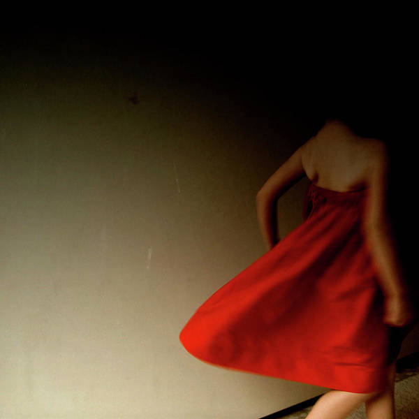 Red Dress Photograph - Girl With Red Dress by (c) Jaime Monfort