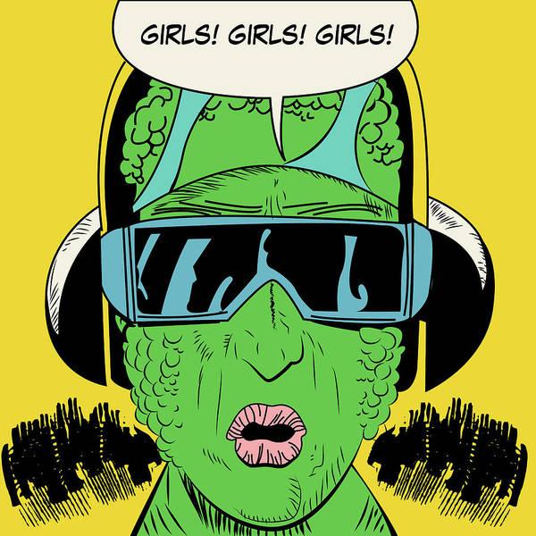 Reality Digital Art - Girls, Girls, Girls by Long Shot