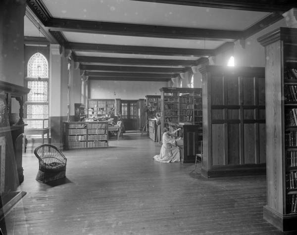 Publication Photograph - Girton Library by Reinhold Thiele