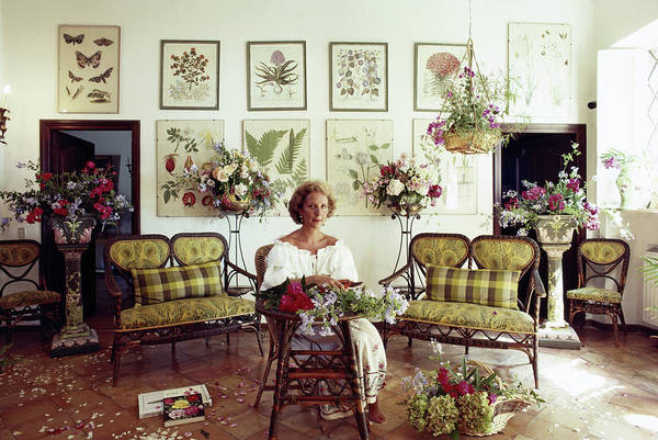 Adult Coloring Book Photograph - Giuppi Pietromarchi by Slim Aarons