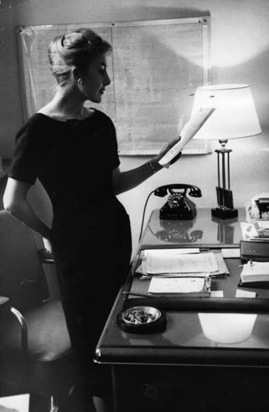 Businesswoman Photograph - Givenchy Preview by John Chillingworth