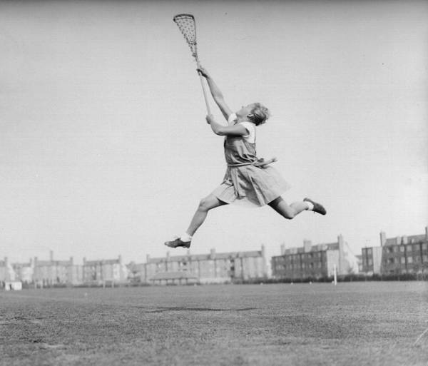 Determination Photograph - Giving Her All by Reg Speller