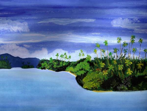 Painting - Gizo by Joan Stratton