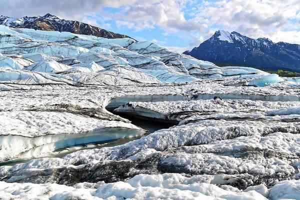 Photograph - Glacial Creek - Matanuska by KJ Swan