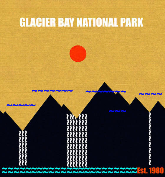 Wall Art - Photograph - Glacier Bay N. P. M Series by David Lee Thompson