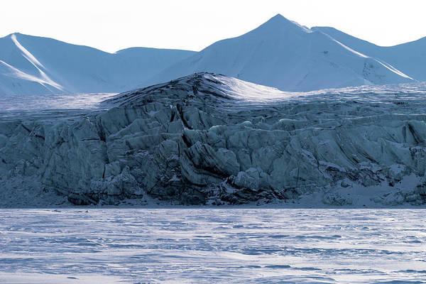Photograph - Glacier Cracked Under Pressure by Kai Mueller