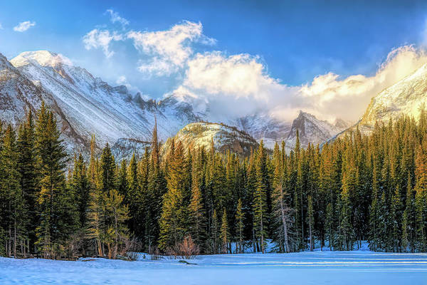 Wall Art - Photograph - Glacier Gorge Revisited 2 by Eric Glaser
