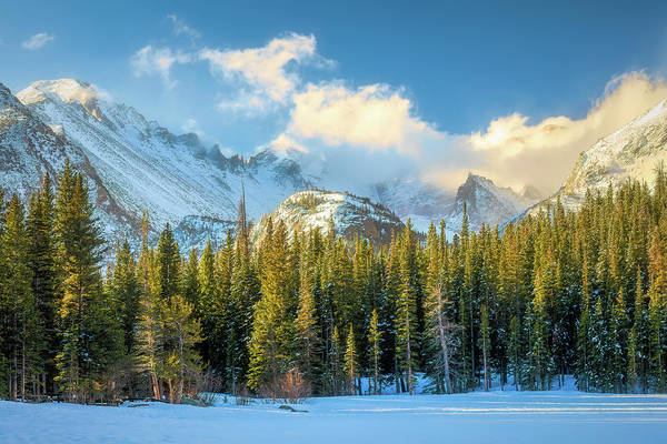 Wall Art - Photograph - Glacier Gorge Revisited 1 by Eric Glaser
