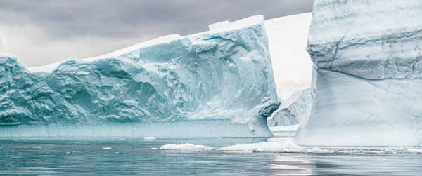 Wall Art - Photograph - Glacier In The Southern Ocean by Panoramic Images