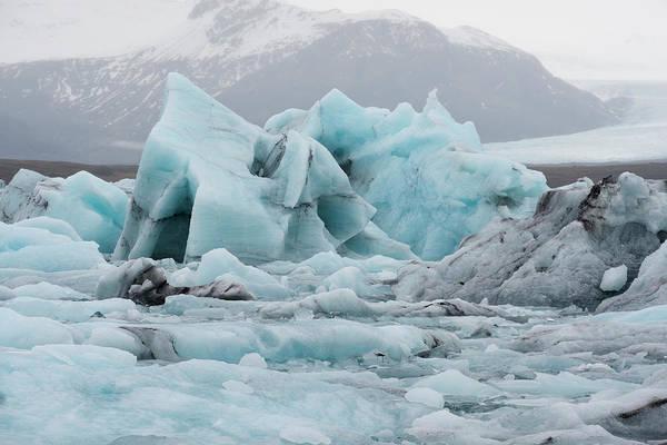 Wall Art - Photograph - Glacier Lagoon, Iceland by Rick Daley