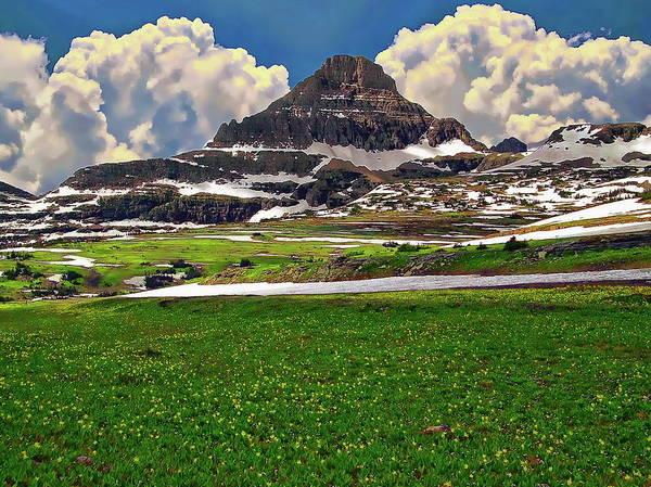 Photograph - Glacier National Park by Anthony Dezenzio