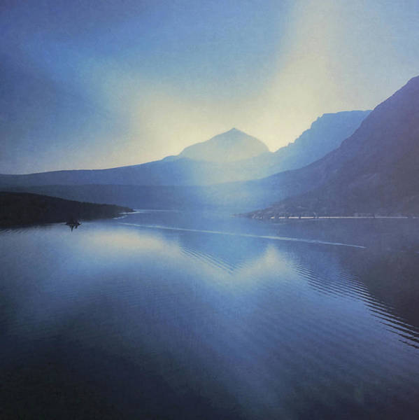 Photograph - Glacier National Park Circa 1970 by JAMART Photography