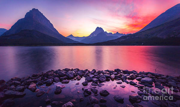 National Wall Art - Photograph - Glacier National Park by Larry Mcmillian