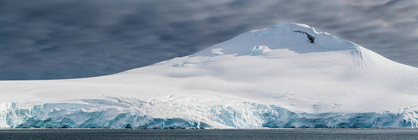 Wall Art - Photograph - Glacier Plunges To The Sea by Panoramic Images