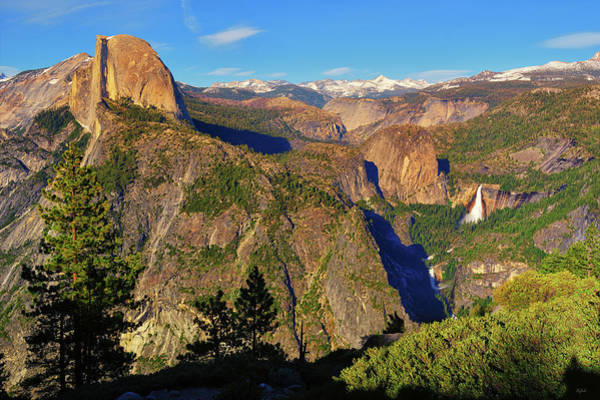 Photograph - Glacier Point Evening View by Greg Norrell