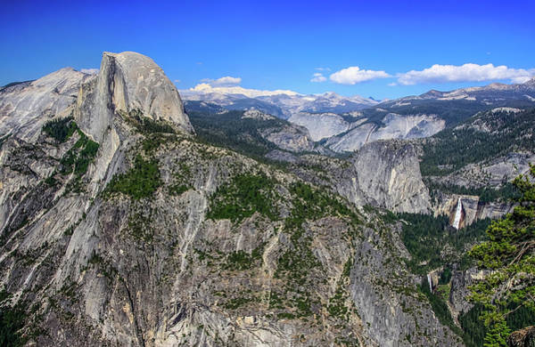 Photograph - Glacier Point Overlook by Dawn Richards