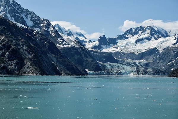 Wall Art - Photograph - Glacier Running Into Ocean  by Edward Garey