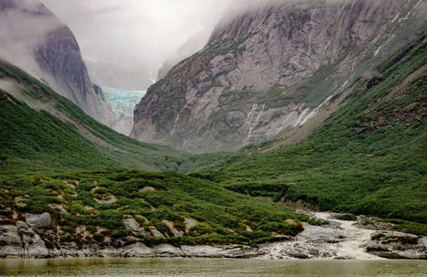 Photograph - Glacier by Silvia Marcoschamer