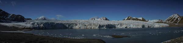 Glacier Svalbard Art Print