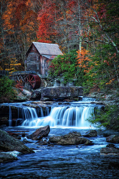 Photograph - Glade Creek Grist Mill II by Pete Federico