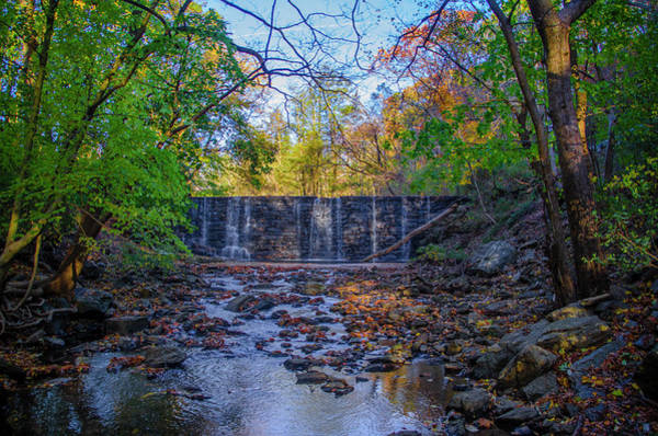 Wall Art - Photograph - Gladwyne - Dove Lake Dam by Bill Cannon