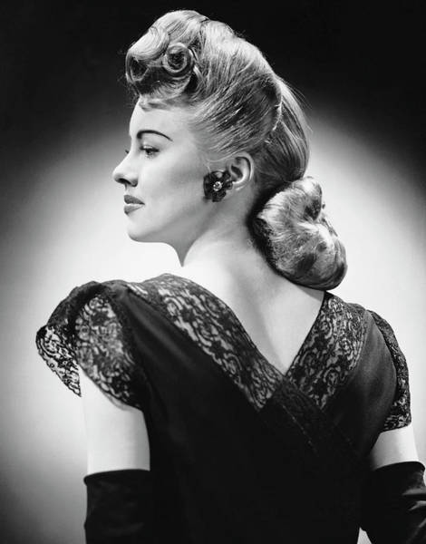 Beautiful People Photograph - Glamorous Woman Posing by George Marks