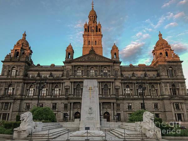 Glasgow Cenotaph Art Print