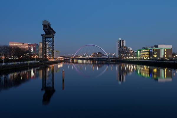 Photograph - Glasgow Relfected by Stephen Taylor