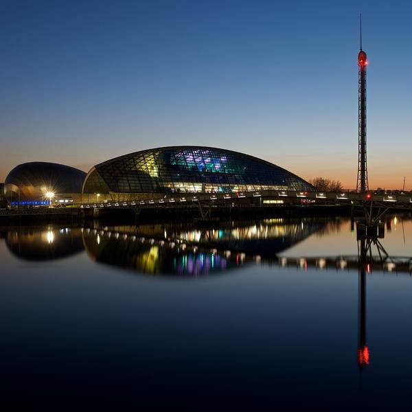 Photograph - Glasgow Science Center by Stephen Taylor