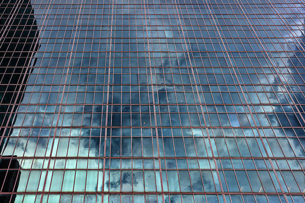 Photograph - Glass Architecture Midtown Nyc by Robert Ullmann