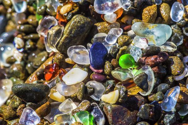 Photograph - Glass Beach - 1 by Jonathan Hansen