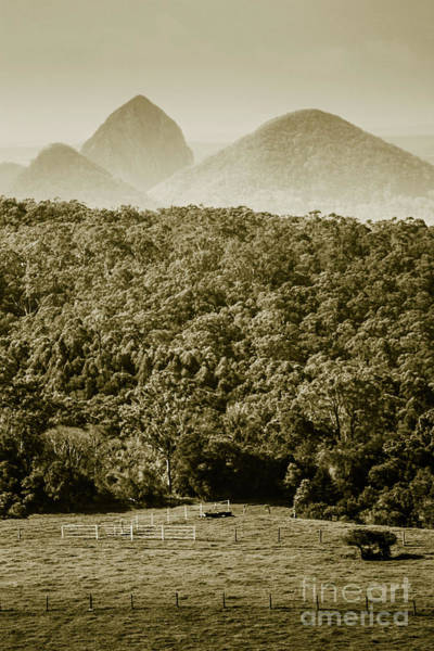 Wall Art - Photograph - Glass House Mountains by Jorgo Photography - Wall Art Gallery