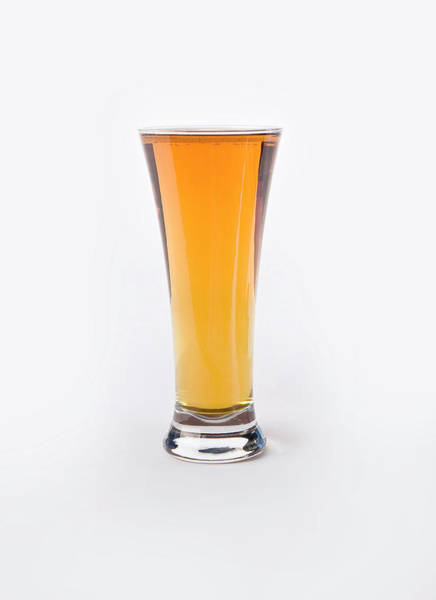 Lager Photograph - Glass Of Amber Lager by Kellie Walsh