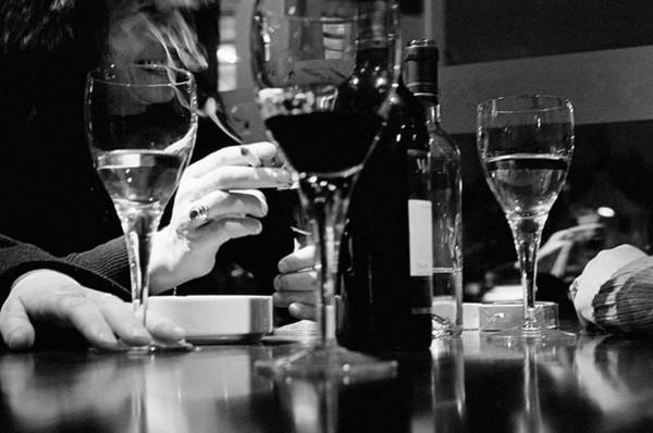 Drinking Glass Photograph - Glasses Of Wine by Matt Carr