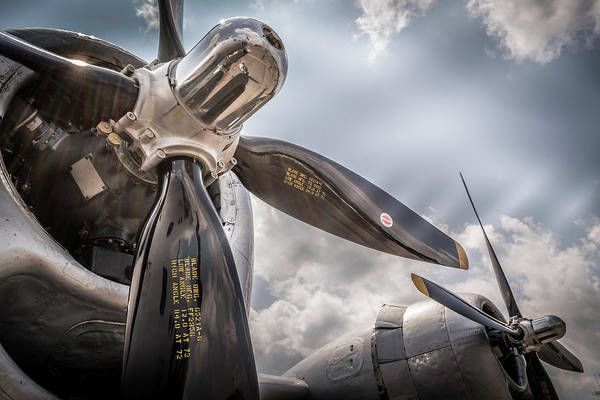 Wall Art - Photograph - Gleaming Props by Jim Love