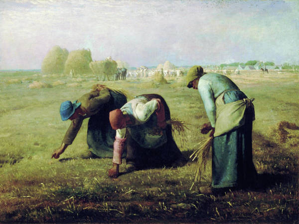 Wall Art - Painting - Gleaners - Digital Remastered Edition by Jean-Francois Millet