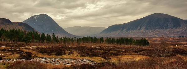 Photograph - Glen Coe Landscape - Scottish Highlands Panorama by Bill Cannon