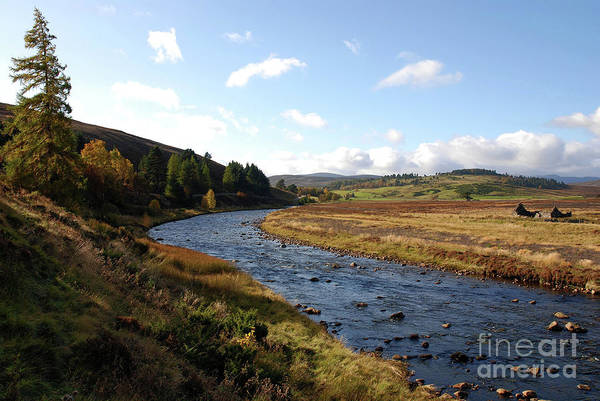 Photograph - Glen Gairn - Autumn by Phil Banks