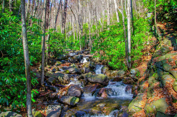Photograph - Glen Onoco Falls - Jim Thorpe Pennsylvania by Bill Cannon
