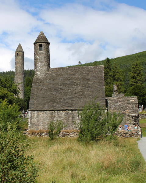 Photograph - Glendalough 4823 by John Moyer