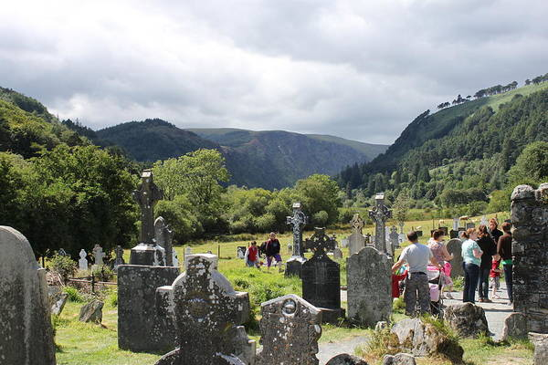 Photograph - Glendalough 4830 by John Moyer