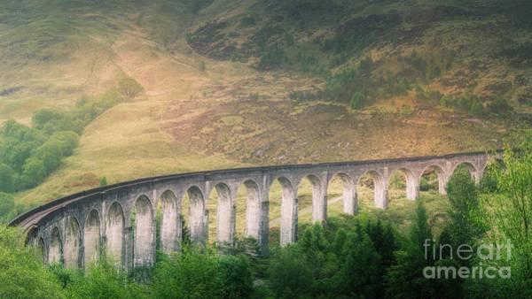 Wall Art - Photograph - Glenfinnan Viaduct Part 2 by Erik Brede