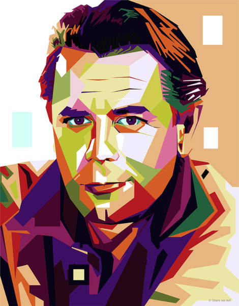 Wall Art - Digital Art - Glenn Ford by Stars-on- Art