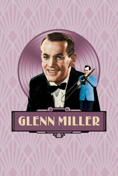 Jug Digital Art - Glenn Miller - The Good Old Days by David Richardson