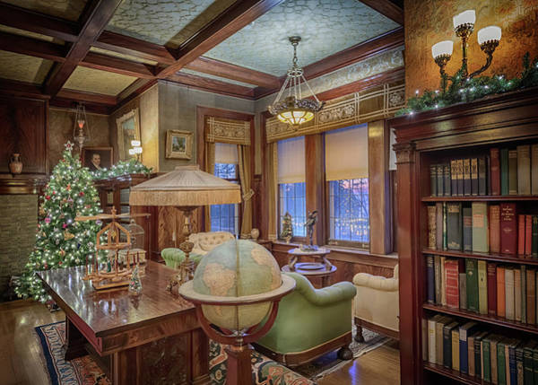 Photograph - Glensheen Library #1 by Susan Rissi Tregoning