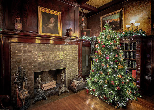 Photograph - Glensheen Library #2 by Susan Rissi Tregoning