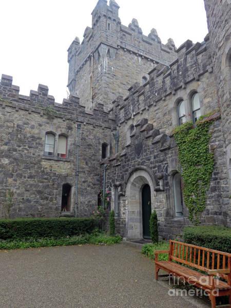 Photograph - Glenveagh Castle Entrance by Cindy Murphy
