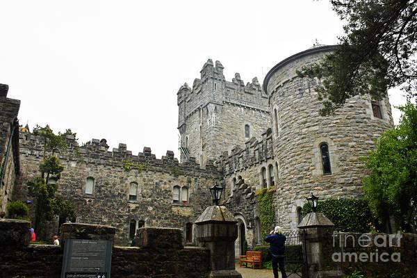 Photograph - Glenveagh Castle Front by Cindy Murphy