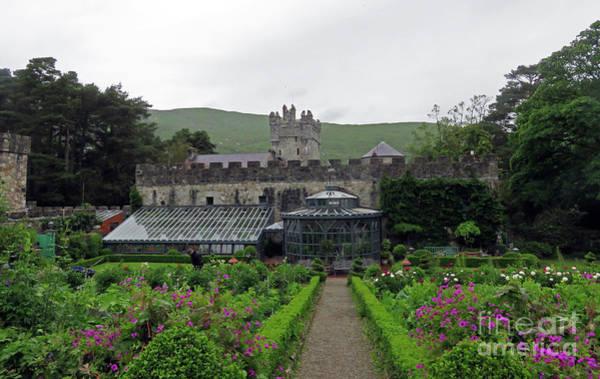 Photograph - Glenveagh Castle Gardens by Cindy Murphy